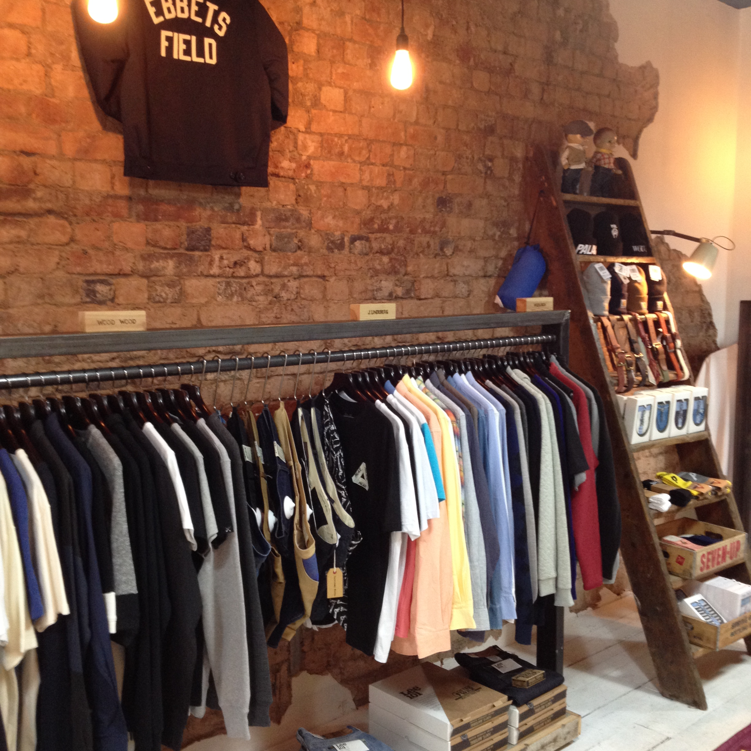 Women clothing stores. Different clothing stores